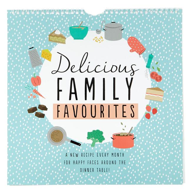 Delicious Family Favourites 2022 Recipe Calendar
