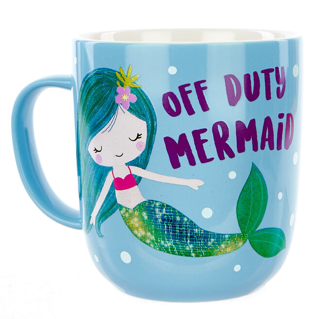 Off Duty Mermaid Mug