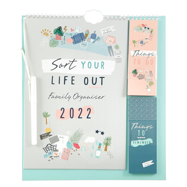 Sort your Life Out Family Organiser 2022