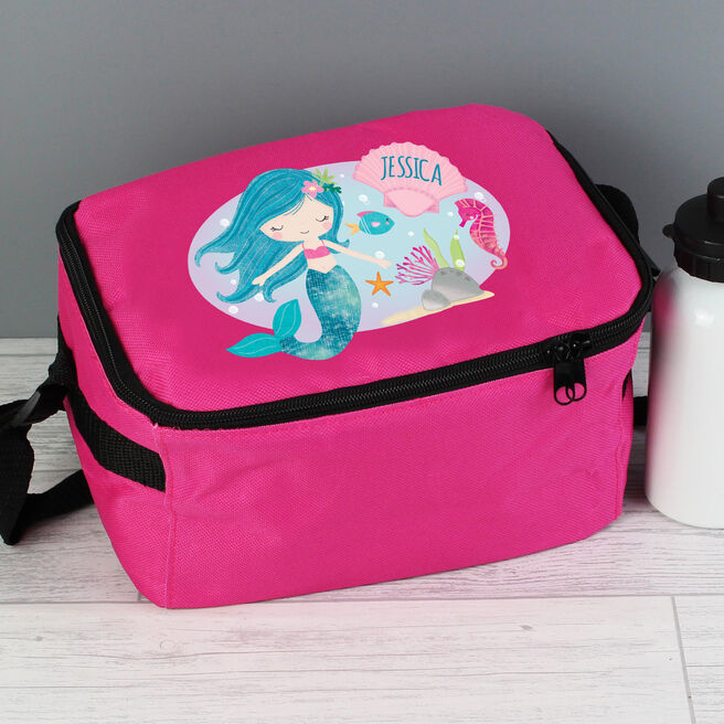 Personalised Lunch Bag - Mermaid
