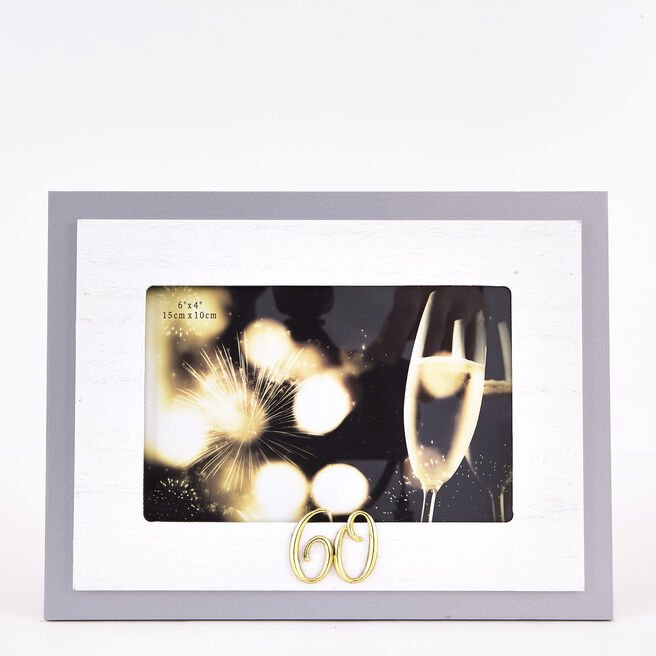 60th Birthday Photo Frame