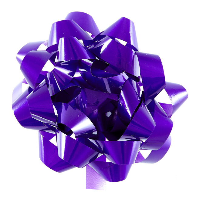 Purple Giant Gift Bow