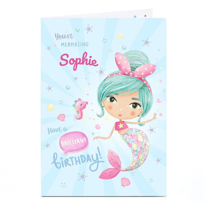Personalised Card - Brilliant Birthday