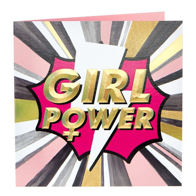 Any Occasion Card - Girl Power