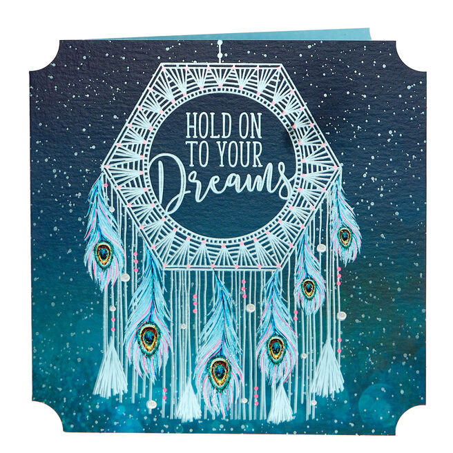Any Occasion Card - Hold On To Your Dreams
