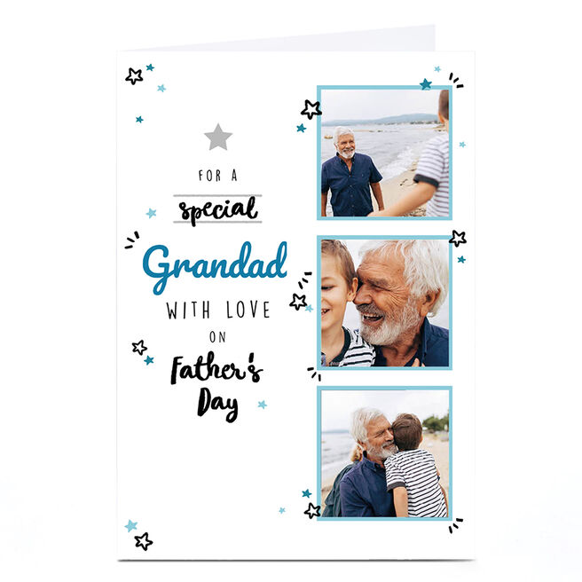 Photo Father's Day Card - Special, With Love