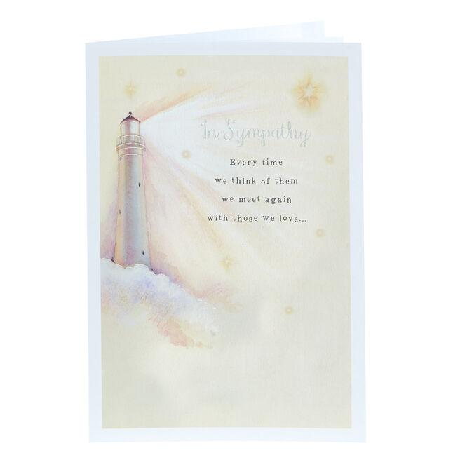 Sympathy Card - Lighthouse