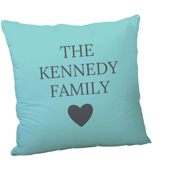 Personalised Cushion - Family Name