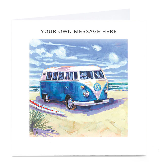 Personalised Card - VW Camper Van
