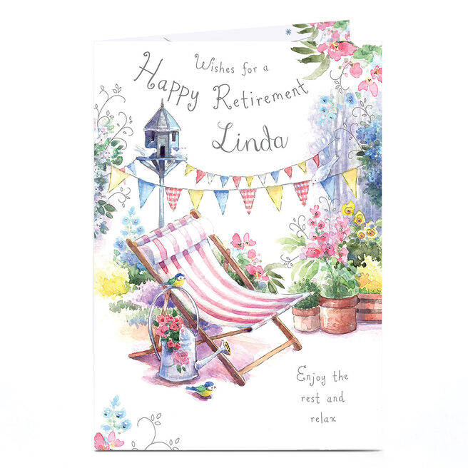 Personalised Retirement Card - Enjoy The Rest