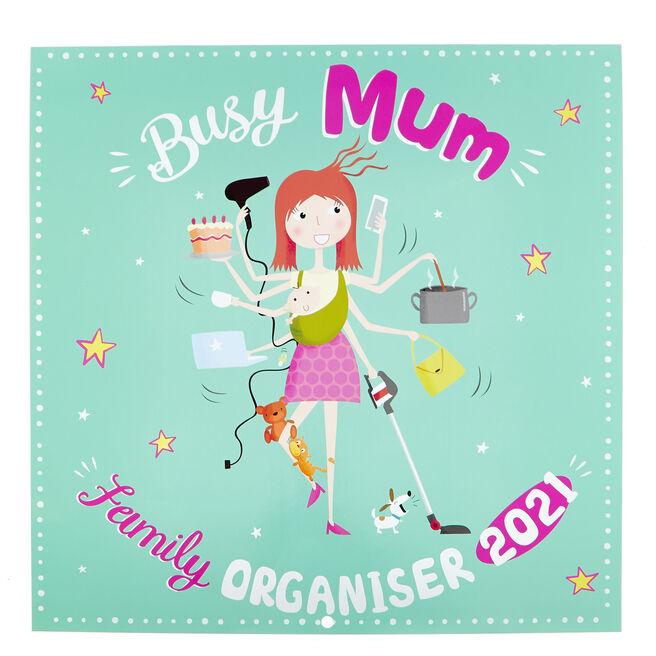 Busy Mum 2021 Family Organiser