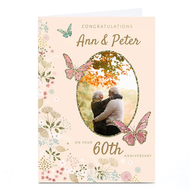 Photo Kerry Spurling Anniversary Card - 60th Anniversary