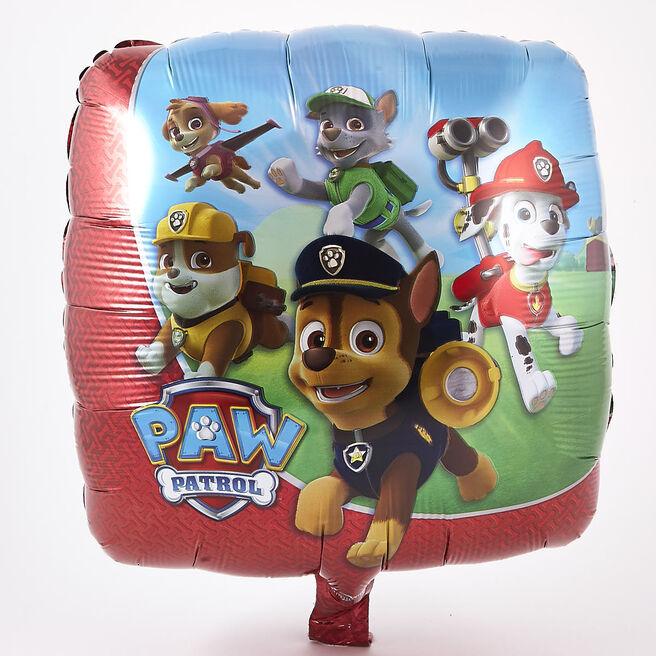 Paw Patrol Square Foil Helium Balloon