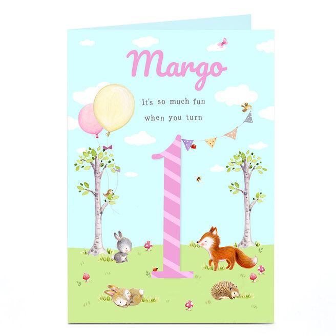 Personalised 1st Birthday Card - So Much Fun