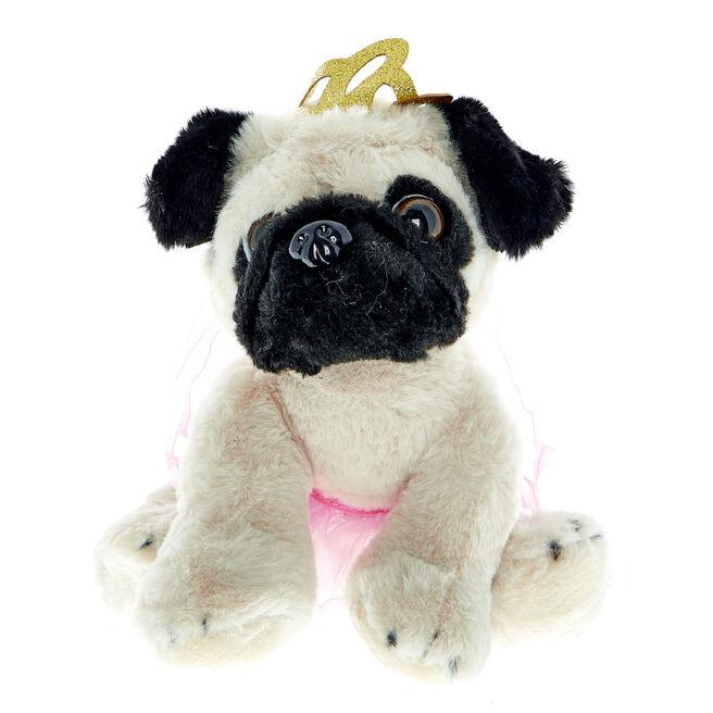 Princess Pug Soft Toy