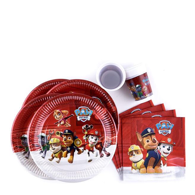 Paw Patrol Party Tableware - Bundle - 36 Pieces