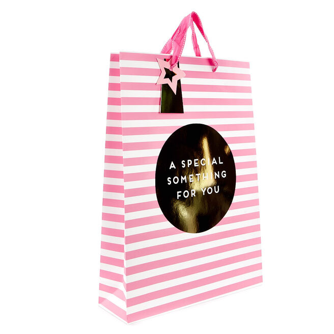 Large A Special Something Pink Gift Bag