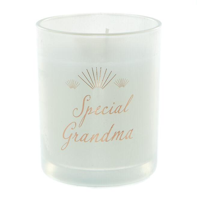 Special Grandma Vanilla Scented Candle