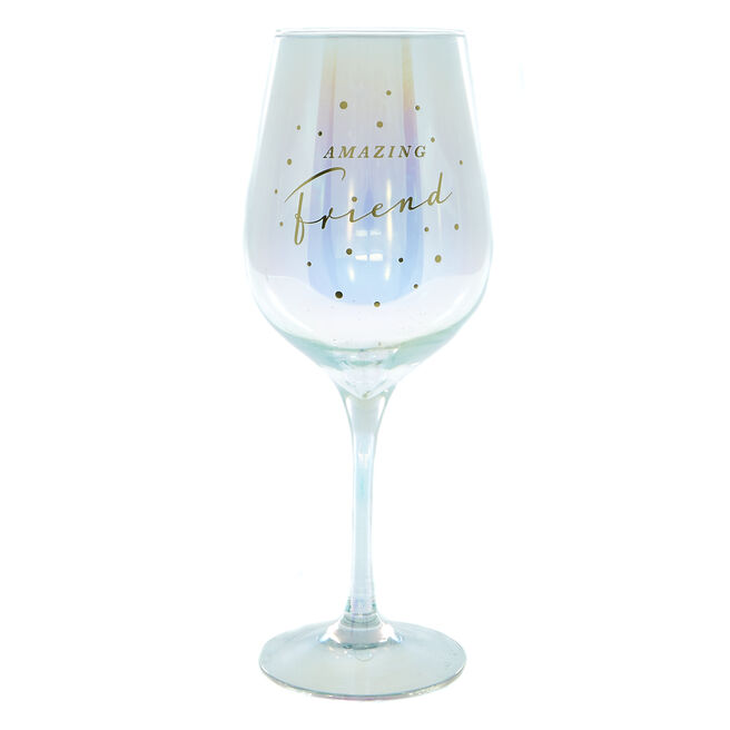 Amazing Friend Wine Glass