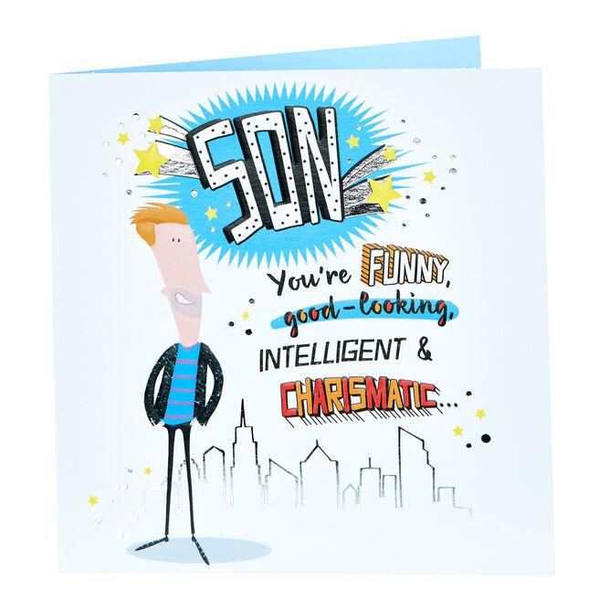 Birthday Card - Charismatic Son