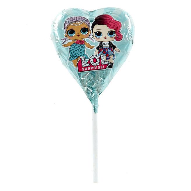 L.O.L Suprise! Milk Chocolate Lollipop