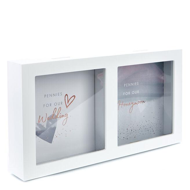 Perfect Together Wedding & Honeymoon Fund Money Box