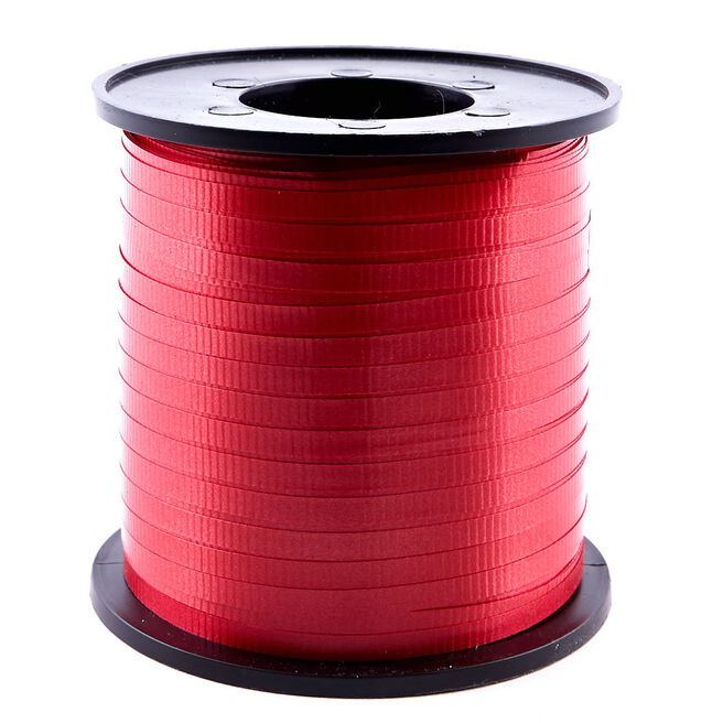 Red Curling Ribbon 500 Yards