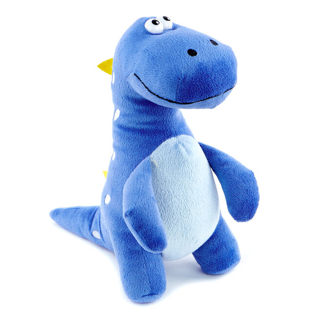 Blue & Yellow Dinosaur Soft Toy