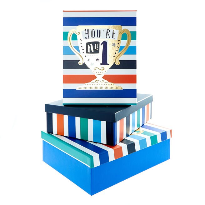 Trophy Shirt Boxes - Set of 3