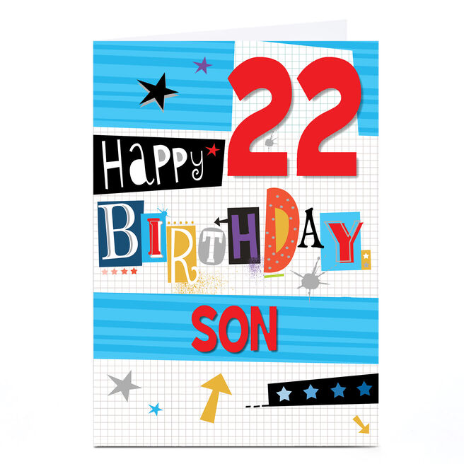 Personalised Any Age Birthday Card - Collage, Any recipient
