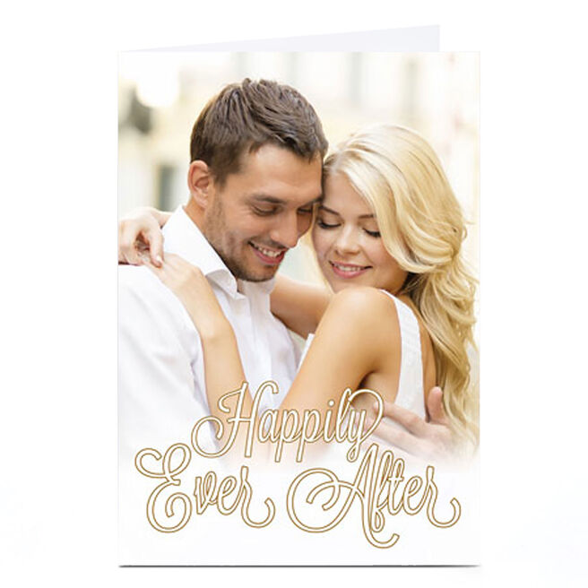 Photo Card - Happily Ever After