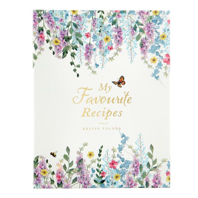Secret Garden My Favourite Recipes Folder