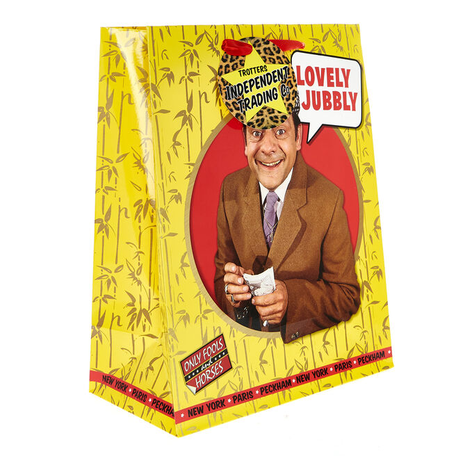 Medium Portrait Only Fools & Horses Gift Bag - Lovely Jubbly
