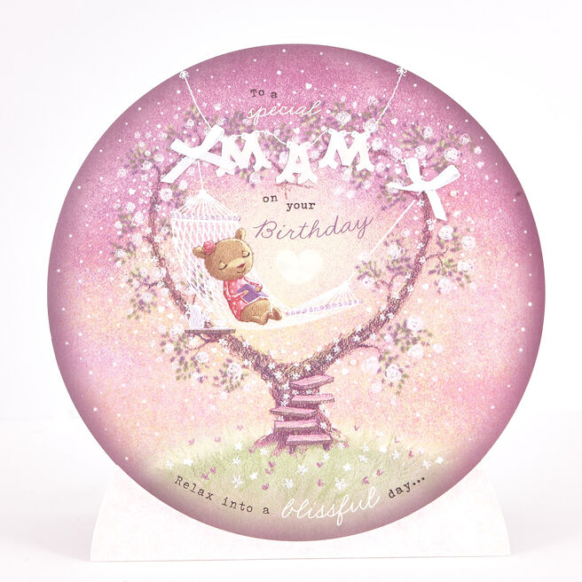 Exquisite Collection Birthday Card - Mam Crystal Ball
