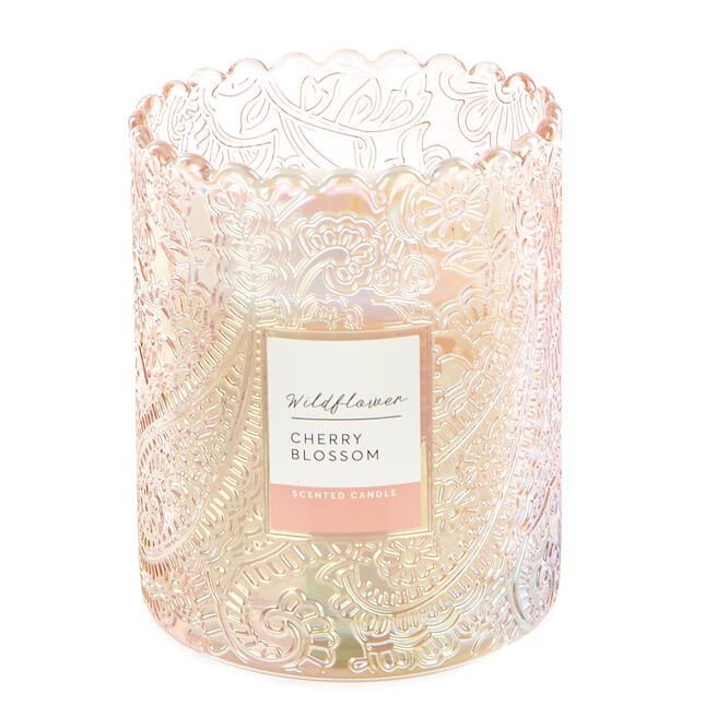 Wildflower Cherry Blossom Scented Candle