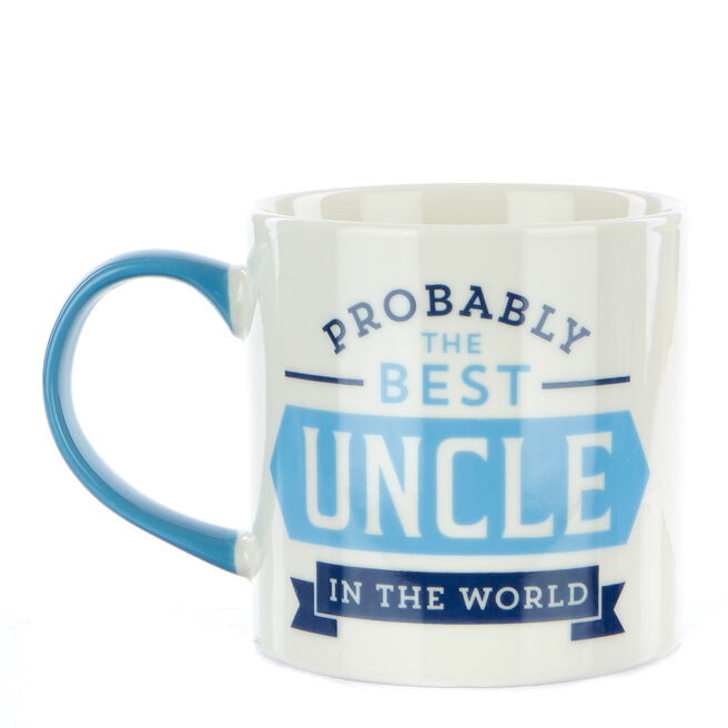 "Probably The Best Uncle"" Mug"""