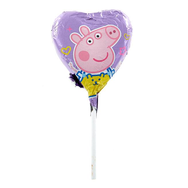 Peppa Pig Milk Chocolate Lollipop