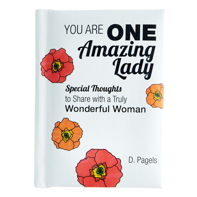 Blue Mountain Arts Keepsake Book - You Are One Amazing Lady