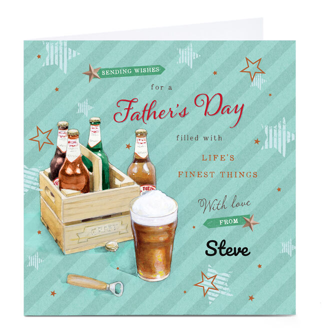 Personalised Father's Day Card - Life's Finest Things