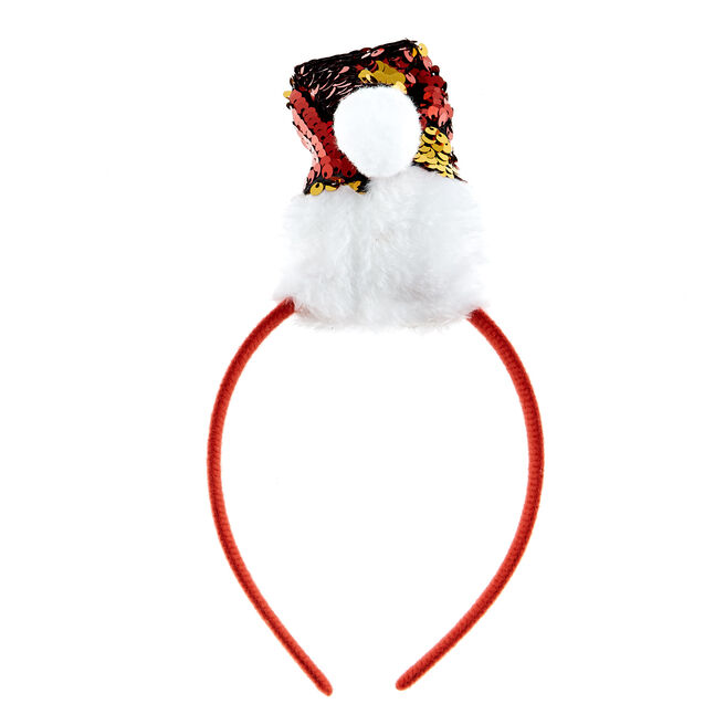 Santa Hat Christmas Headband