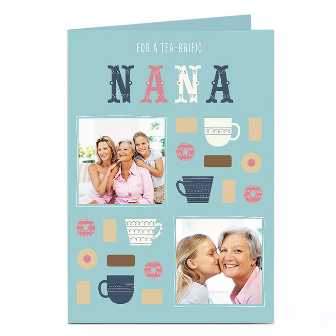 Photo Card - Tea-riffic Nana