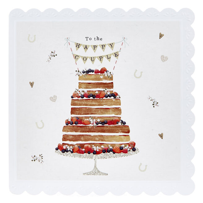 Wedding Card - To The Happy Couple, Cake