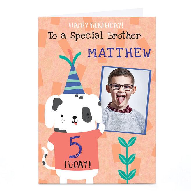 Photo Juniper & Rose Birthday Card - Dalmatian