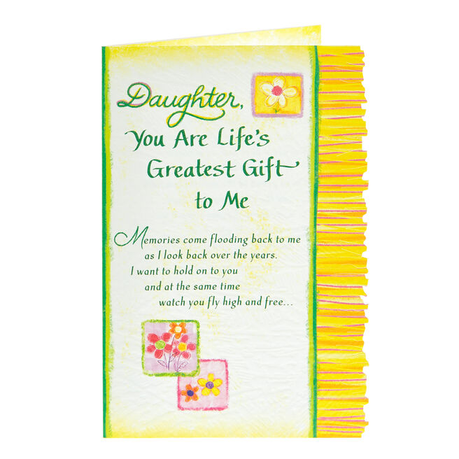 Blue Mountain Arts Card - Daughter Life's Greatest Gift