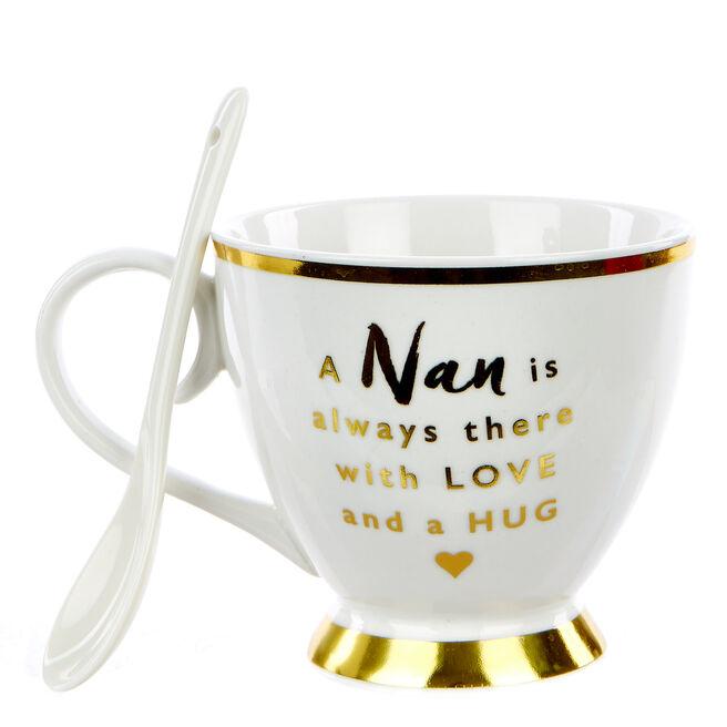Nan Christmas Cup & Spoon Set
