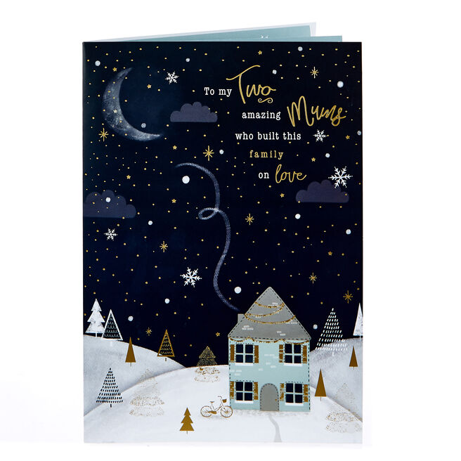 Christmas Card - My Two Mums