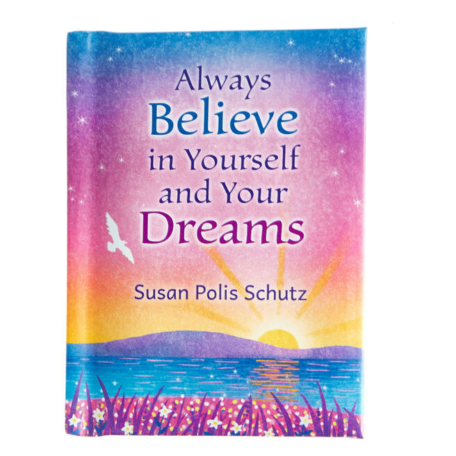 Blue Mountain Arts Keepsake Book - Believe In Yourself  & Your Dreams
