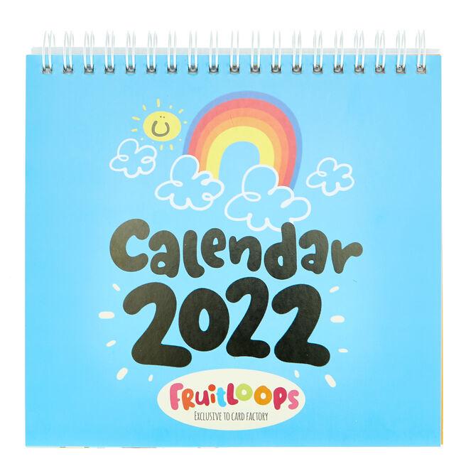 Fruitloops 2022 Desktop Calendar