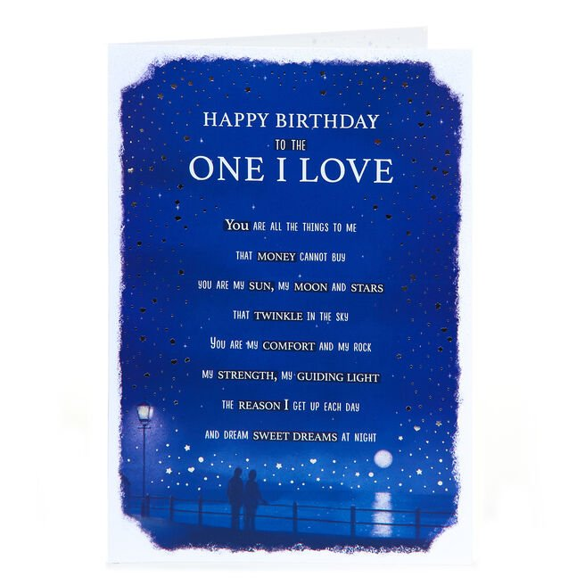 Birthday Card - To The One I Love