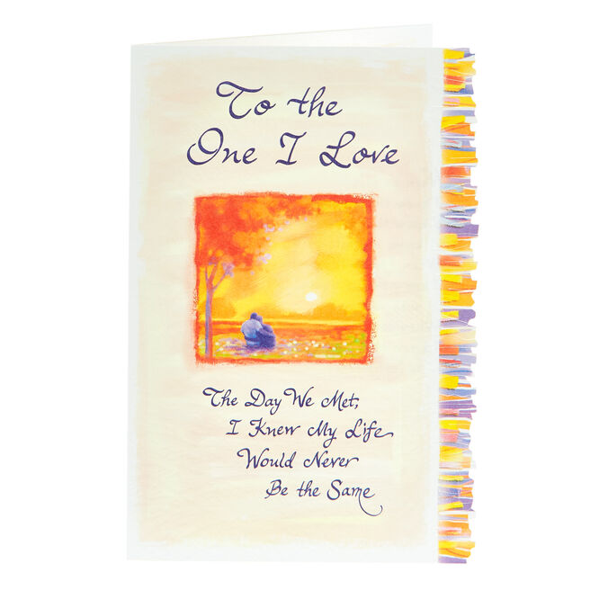 Blue Mountain Arts Card - To The One I Love